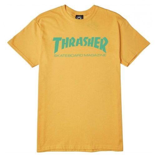 REMERA THRASHER M/C SK8 MAG 5101-10 HOMBRE 5101-1040S